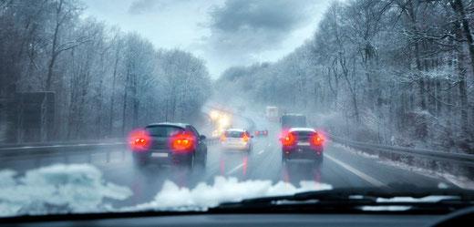 Winterservice am Auto