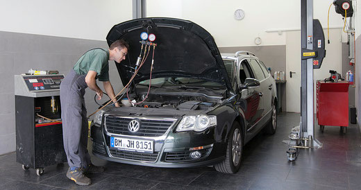 Diagnose am Auto