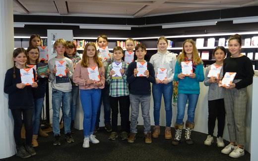 Die Teilnehmer/innen des Kreisentscheids. (Foto: PAN)