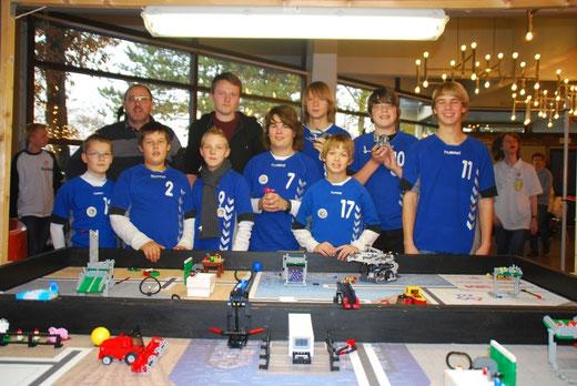 Roboter-AG mit Herrn Hesse