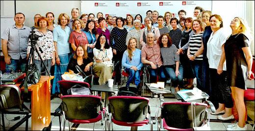 Russische LogotherapeutInnen beim Supervisionsseminar