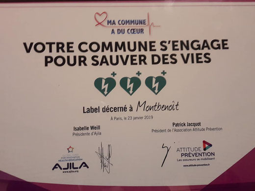 Ma Commune a du Coeur Label