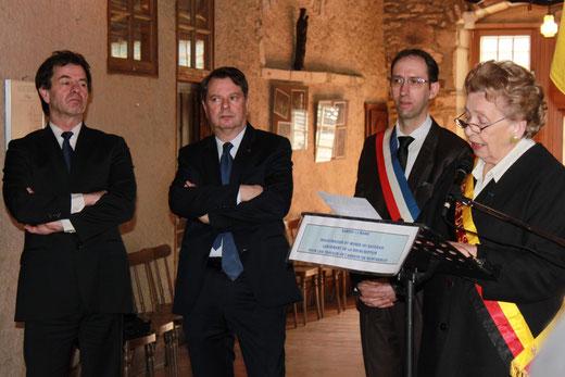 Inauguration du Musée de la République du Saugeais