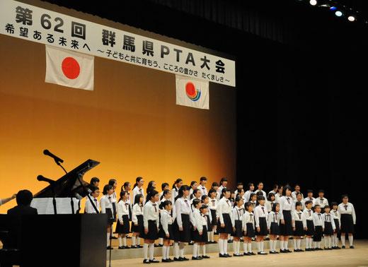 アトラクション<前橋市児童文化センター合唱団>
