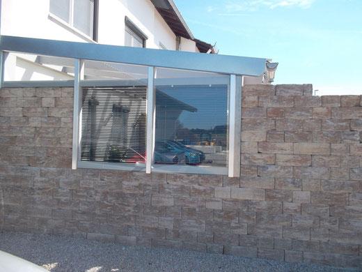 KBH Mauer.   KBH Wand.    Gartenmauer.