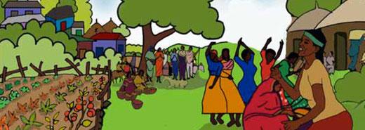 Kirchgemeinde Limpach - Dekofoto Projekt im Kongo
