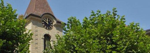 Kirchgemeinde Limpach - Dekofoto Baugeschichte der Kirche