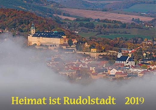 Blick zur Heidecksburg - Ach Rudolstadt ist doch schon ein wenig himmlich.
