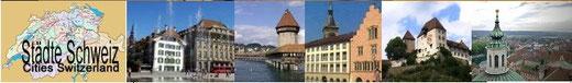 Die schönsten Städte und Orte: Rundreisen Schweiz ab Mittelland