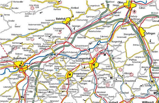 Sehr gute Karte  myoberaargau.com
