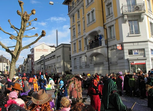 fotos fasnacht solothurn