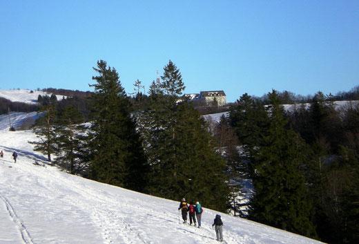 schneeschuhtour jura