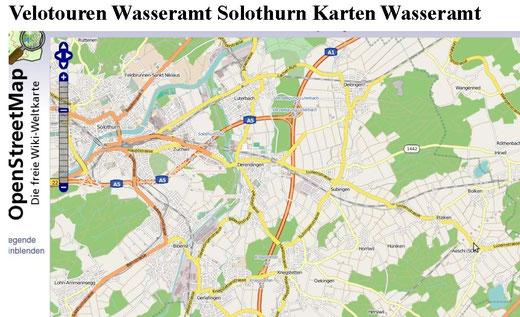 karte region solothurn