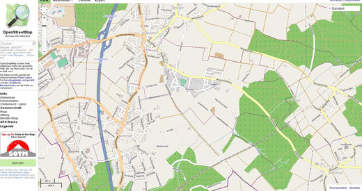 cc by nc click zoom online Karte / Map openstreetmap