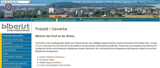 Biberist Solothurn Infos