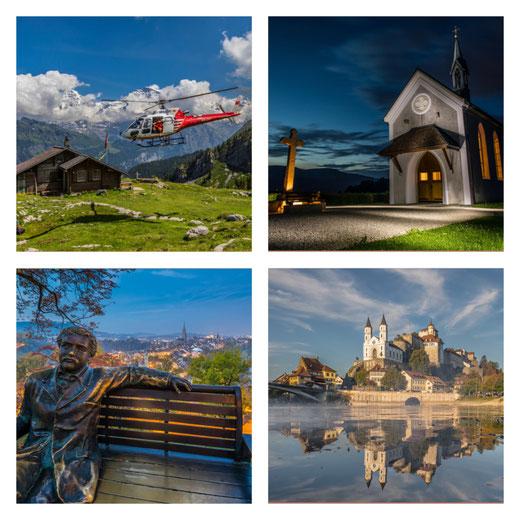 Landschaften, Dörfer und Natur