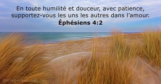 L'humilité est une attitude intérieure à cultiver et à fortifier, fondée sur la juste connaissance de soi et l'appréciation des autres. L'humilité nous permet de développer notre paix intérieure.