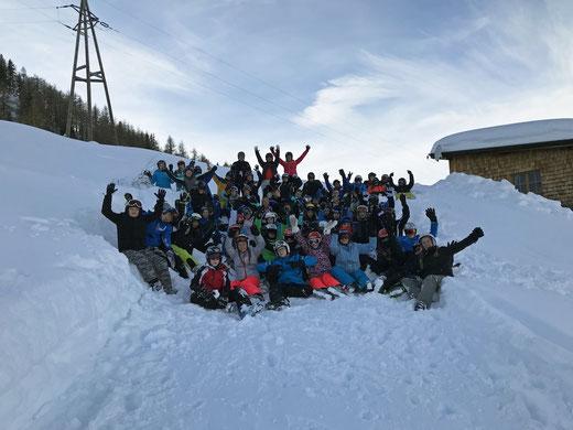 Bis hoch auf den Gerlosstein führte es einige Schülerinnen und Schüler der Oberschule Pingel Anton. Foto: Yvonne Högemann