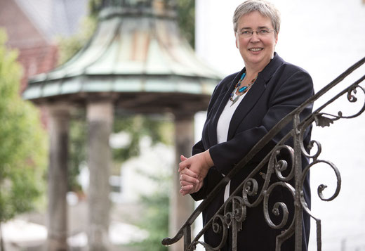 Dr. Mechthild Beilmann-Schöner, Vorstand der Stiftung und Leiterin der Städtischen Museen Rheine
