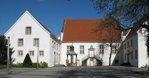 Das Museum Falkenhof im Herzen der Innenstadt von Rheine