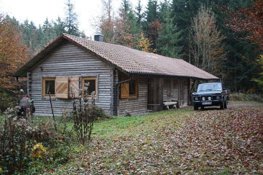 Unsere Jagdhütte