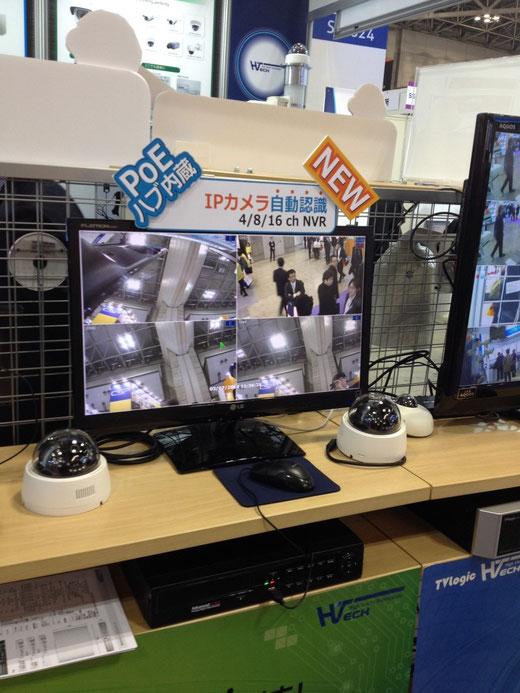 Tokyo SecurityShow 2014 PoE PlugIN NVR