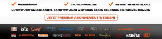 Unterstütze unsere Arbeit ... z.B. mit einem Premium Abonnement !!!