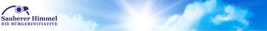 Sauberer Himmel - Die Bürgerinitiative >