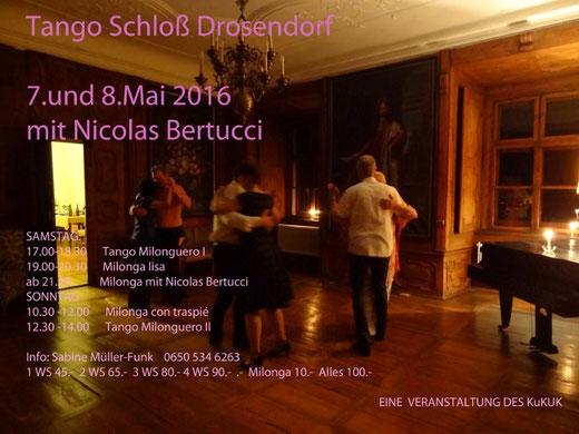 Tangoworkshop Drosendorf 7.-8. Mai 2016