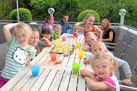 sportlich Kindergeburtstag feiern