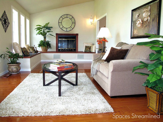 Decorate or Stage a Long, Narrow Living Room