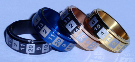 CritSuccess Dice Rings