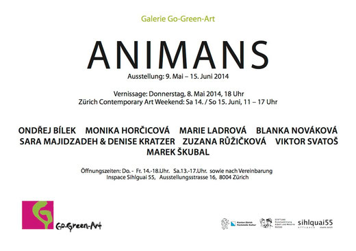 If these wings could fly an der Ausstellung ANIMANS vom 08.05-15.06.14