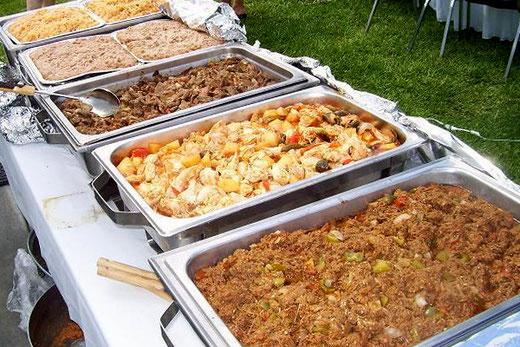 Banquetes El Manjar de Monterrey. Buffet de Cazuelas para Eventos.