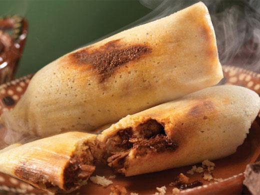 Tamales El Manjar de Monterrey.