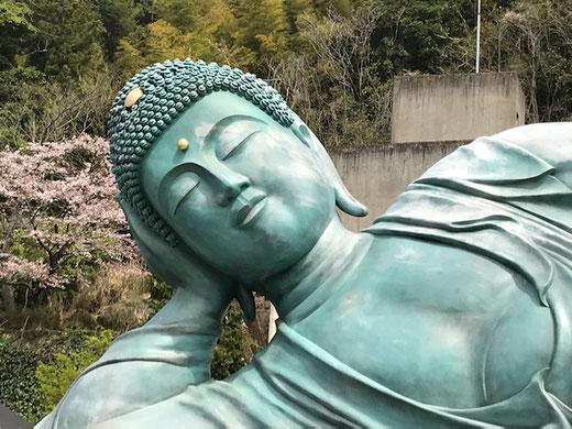 篠栗 南蔵院 涅槃像
