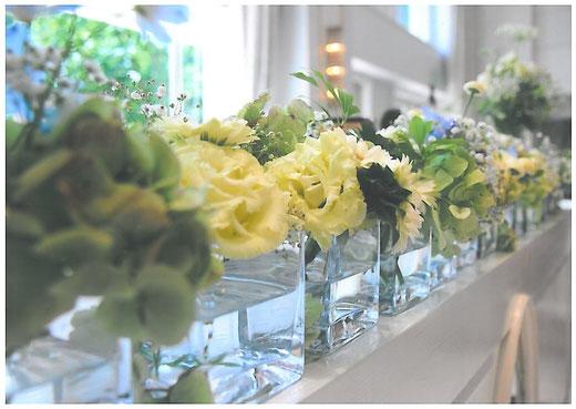 結婚式 親へプレゼント 花いっぱい オリジナル絵本