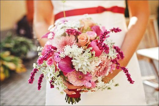 Brautstrauß freie Trauung Brautsträuße freie Trauungen Blumen Trauzeremonie Frankfurt