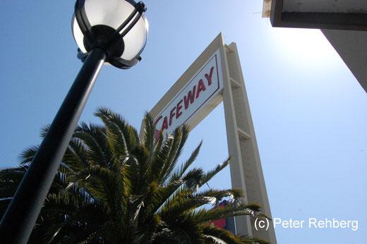 San Francisco: Unser erster Einkauf war bei Safeway. Tipp:Kundenkarte holen!!!