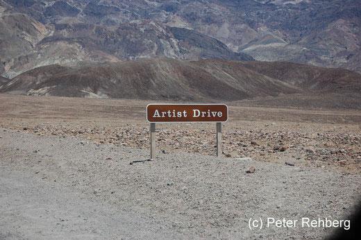 Der nächste Halt ist Artist Drive
