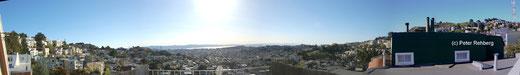 San Francisco: Blick vom Balkon, Traumhaft! Durch anklicken vergrösserbar