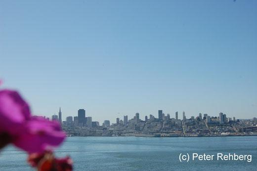 Alcatraz: Welch ein Ausblick auf San Francisco