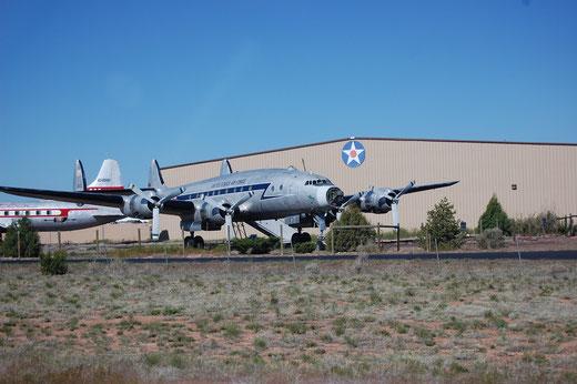 Kurz hinter Tusayan, Grand Canyon National Airport