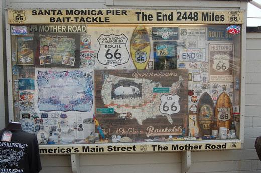 Das Ende der Route 66