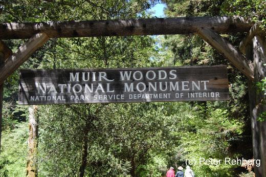 Muir Woods: Eingang zum Park