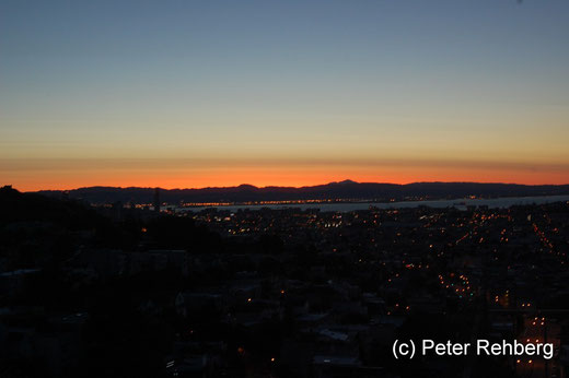 San Francisco: Der Himmel brennt um 06:00 Uhr