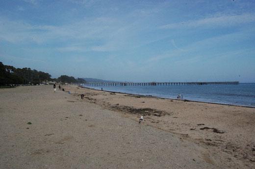 Am Strand von Goleta