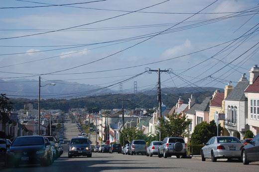 Ein letzter Blick auf die Golden Gate Bridge