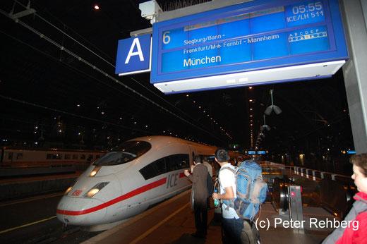 Köln Hbf: Pünktliche Abfahrt um 05:55 Uhr trotz Stellwerkschaden