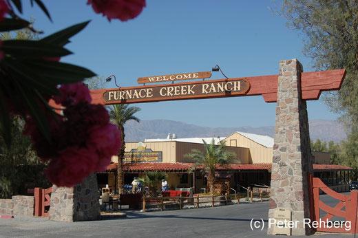 Unser Ziel: Die Furnace Creek Ranch